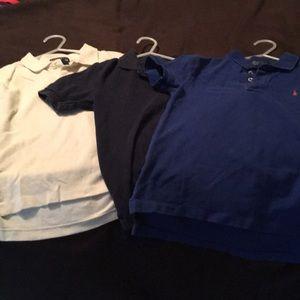 Polo boys shirts boys size 7!